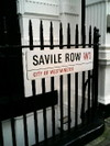 Savilerowsign
